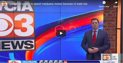 IL: Springfield unable to spend marijuana money because of state law.