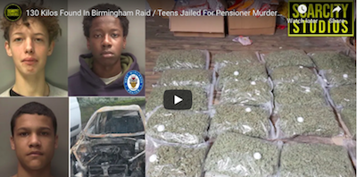 Jan 13, 2021  UK – Birmingham: 130 Kilos Cannabis Found In Birmingham Raid