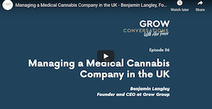 Jan 9, 2021-UK: Managing a Medical Cannabis Company in the UK – Benjamin Langley, Founder & CEO of Grow Group – GC06
