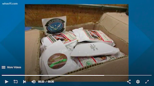 Nearly 230 pounds of DMT seized in Louisville by Customs and Border Patrol