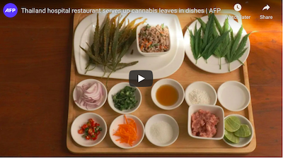 Thai hospital restaurant serves up cannabis leaves in dishes