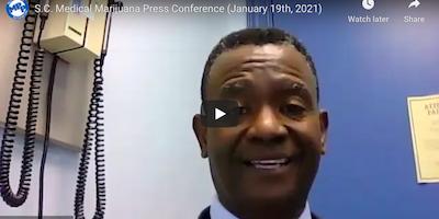 Marijuana Policy Project: S.C. Medical Marijuana Press Conference (January 19th, 2021)