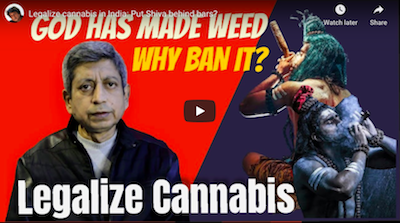 January 5 2021:  Legalize cannabis in India: Put Shiva behind bars?