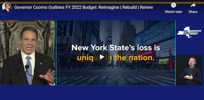 January 21 2021: New York governor releases cannabis equity funding info