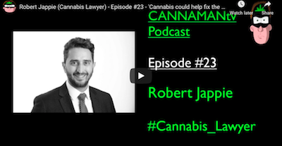 January 26 2021: Robert Jappie (Cannabis Lawyer) – Episode #23 – 'Cannabis could help fix the UK's financial issues'
