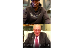 Schumer Tells Al Harrington Cannabis Bills To Be Merged For Federal Legislation