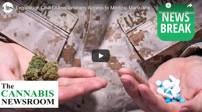 February 4 2021: Legislation Could Allow Veterans Access to Medical Marijuana Through Veterans Affairs