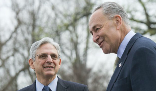 Schmumer Raises States Rights & Cannabis In Meeting With Merrick Garland This Week
