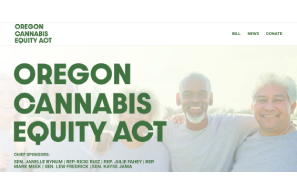 Oregon: Cannabis Social Equity Bill Introduced