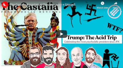 Psymposia Discussion:   The Castalia Foundation: Timothy Leary + QAnon?
