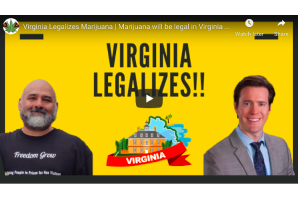 February 6 2021: Virginia Legalizes Marijuana / will be legal in Virginia after historic vote