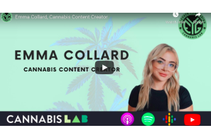 February 9 2021: Cannabis Lab Interview – Emma Collard, Cannabis Content Creator
