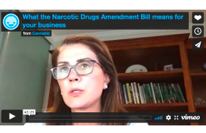 February 25 2021: Australia – Webinar: what the Narcotic Drugs Amendment Bill means for your business