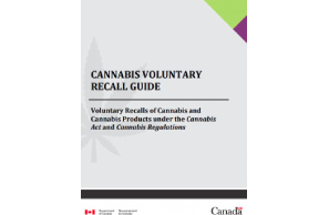 Health Canada Publication: Cannabis voluntary recall guide