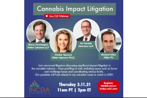 INCBA: Key Issues in Impact Cannabis Litigation
