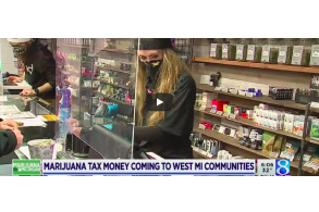 March 5 2021: Michigan sending $10M from recreational pot sales to local governments