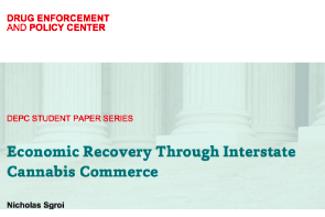 USA – Policy Paper: Economic Recovery Through Interstate Cannabis Commerce