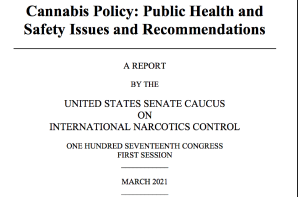 USA – Senate Narcotics Caucus Marijuana Report