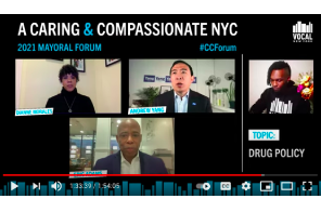 A Caring & Compassionate NYC – VOCAL-NY's Mayoral Candidate Forum – Yang Urges Legalization Of Psilocybin And Marijuana