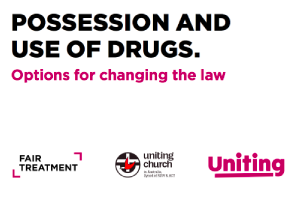 The Uniting Church Present Eminently Sensible Discussion Paper On Decriminalizing Scheduled Drugs In NSW Parliament Launch Event
