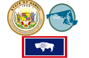 Deadlines Pass For Cannabis Bills In Maryland, Hawaii and Wyoming,