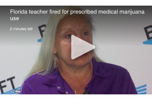 Florida teacher fired for prescribed medical marijuana use