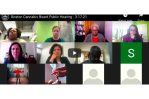 Boston Cannabis Board Public Hearing – 3-17-21