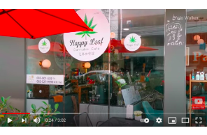 100% Legal Hemp Cafe opened in Central Pattaya a week ago. | March 2021 | Thailand