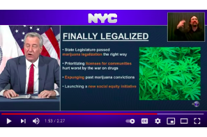 Cuomo Signs Off On NY Cannabis Legislation – Informs All With Twitter Post Dated April 1st !
