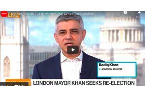 UK London Mayor Khan on Cannabis , EU Equivalence Deal, Reelection,