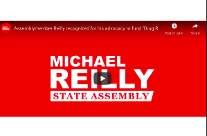 """NY: Assembly member Reilly recognized for his advocacy to fund """"Drug Recognition Experts"""" in state budget"""
