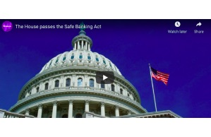 Yahoo Live: The House passes the Safe Banking Act