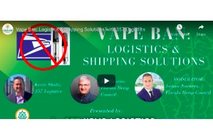 April  22, 2021 : Vape Ban: Logistics & Shipping Solutions with 357 Logistics