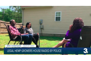 Virginia: Hemp growers file lawsuit against members of the Newport News Police Department after overly aggressive arrest in 2019
