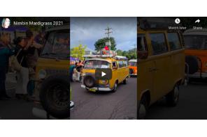 Australia – Nimbin Mardigrass – The Kombi Van Parade