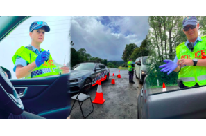 Police Traffic Enforcement At Nimbin Mardigrass Applied Aggressively