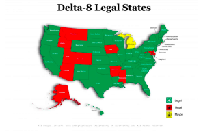 USA: Delta-8 Legal Map Published