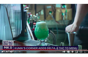 Burger joint Kuma's Corner adds Delta-8 THC to menu
