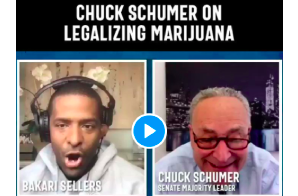 Schumer Says In Interview That Cannabis Legalization Must Pass Before Relevant Banking Reform