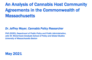 Massachusetts Report: An Analysis Of Cannabis Host Community Agreements In The Commonwealth of Massachusetts