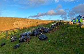 Manchester cannabis farm rubbish found dumped on Lancashire moorland