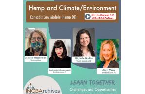 INCBA Hemp & Climate Environment