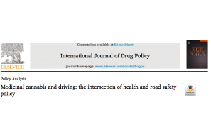 Policy Analysis Paper: Medicinal cannabis and driving: the intersection of health and road safety policy