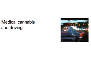 Paper – Australia: Medical cannabis and driving