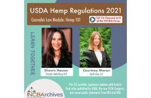 USDA Hemp Regulations 2021