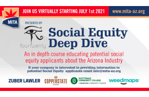 """AZ: Event / Webinar : Arizona's New Adult Use Law- Proposition 207 adopted a Social Equity Ownership Program (SEOP), which is designed to issue licenses to entities whose owners are """"from communities disproportionately impacted by the enforcement of previous marijuana laws."""""""