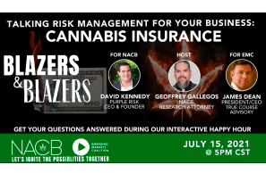 Talking risk management for your business:CANNABIS INSURANCE
