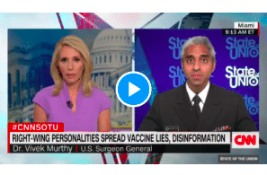 US Surgeon General Says It Is Time To Stop Locking People Up For Cannabis On CNN
