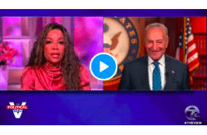 Schumer Talks To The View About Cannabis Legalization