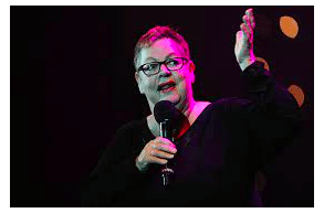 UK Comedian Jo Brand Admits On Stage At Latitude Festival That She'd Taken Magic Mushrooms Before Her Set